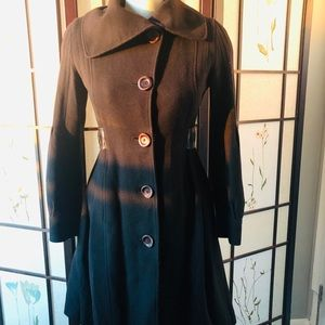 XSmall Mackage Wool and Cashmere Coat - Black